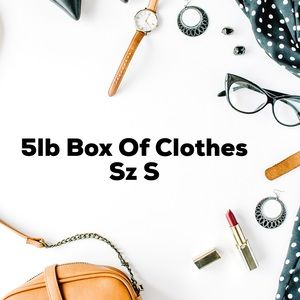 5lb Box Of Clothes
